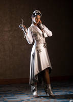 Steampunk Wizard of OZ: TinLady by MakeupSiren