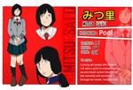 BNHA OC: Mitsu Sato Reference  by VivlynDraws
