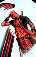 Deadpool  sketch by Mikki7755