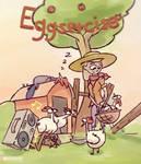 Eggsercise Poster by Stupchek