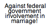 Gay Marriage or Traditional Marriage: Who Decides? by Starlow-FTW