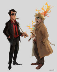 more good omens by Sydsir