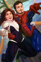 Spider-Couple by MisterCrowbar