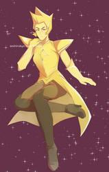 Yellow Diamond by atomicheartlight