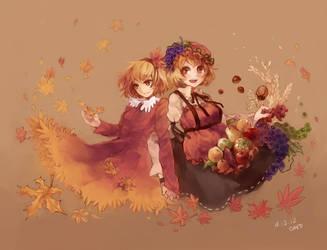 Autumn by ezroseven
