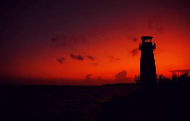 High Rock Sunset by shuttermonkey