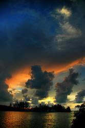 Man-O-War Sunset by shuttermonkey