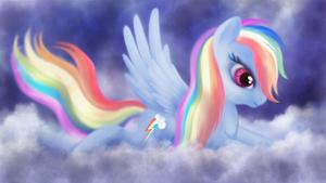 Rainbow Dash by macalaniaa