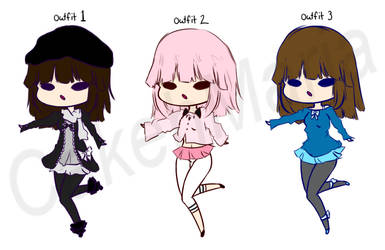 Cakeh's new outfits!! by CakehMaria