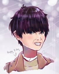 happy birthday Taehyung!! by CakehMaria