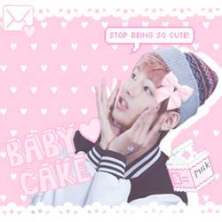 Taehyung pastel edit by CakehMaria