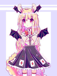 kawaii bunny girl by CakehMaria
