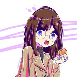 hands off that sandwich please. by CakehMaria