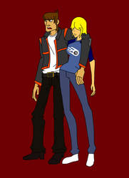 Motorcity-Mikey and Pickles by MeloYellowJellow