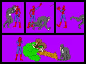 Spiderman and Venom Comic by MeloYellowJellow