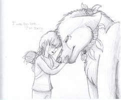 Katniss and Rue Muttation by CascadingSerenity
