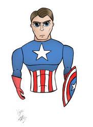 Captain America by KapanKatsuragi