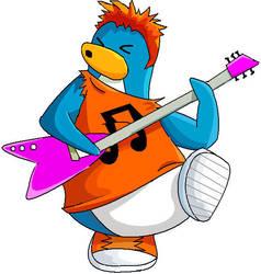 Club penguin rocker by Moons897aa