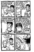 Spock's Head Explodes by chasmosaur