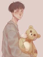 Old torn bear by Kasoo7