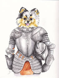 Armored Pup by SaintBree