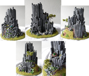 Basalt rock model by Graveni