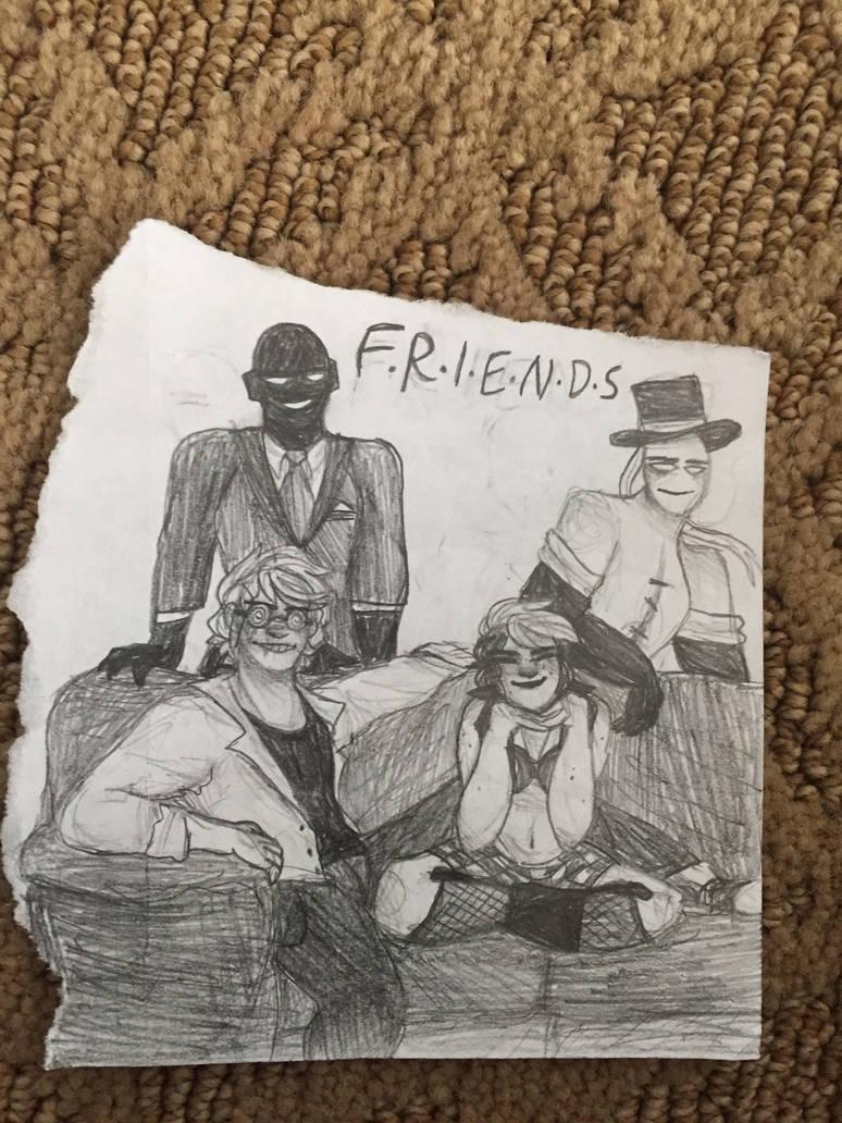 F.R.I.E.N.D.S by LambyWamby