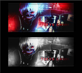 Tokyo Ghoul Signature by Dillios