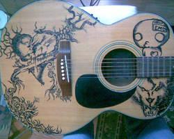 guitar by ninja387