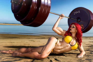 Spitfire: Muscle Beach by brad328