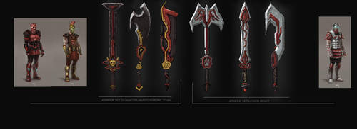 God Fire - weapons concepts by Matchack