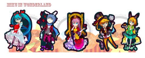 Vocaloid x Alice by OXMiruku