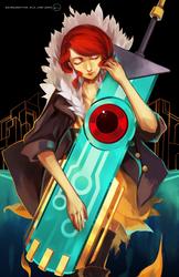 Transistor red by OXMiruku