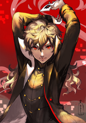 Persona 5 Joker by OXMiruku