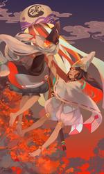 Onmyoji by OXMiruku