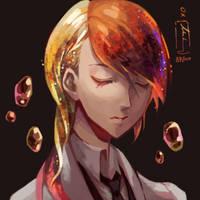 Rutile by OXMiruku