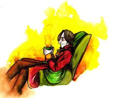 Tea Break by Artoveli