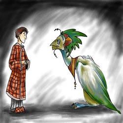 Arthur and the Wise Old Bird by Artoveli