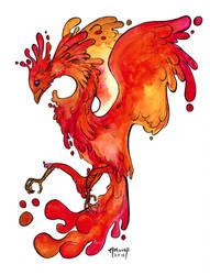 Spatter Bird by Artoveli