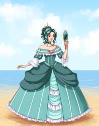 Lady Michiru for Evaporatingmemory by Emily-Fay