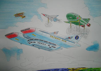 Thunderbird 6 Drawing by antonio248