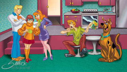 Scooby Doo jinkies by SavarkDicupe