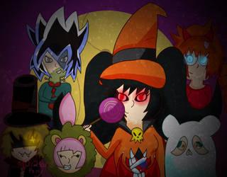 Halloween Friends by TheInanimatePony