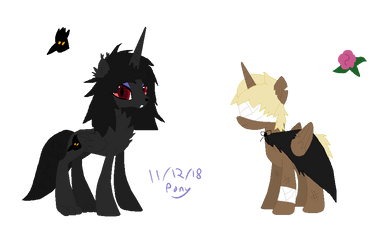 (Pones) Liar Princess And Blind Prince by TheInanimatePony