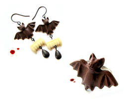 Chocolate Vampires for Halloween by allim-lip