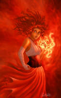 In Flames retouch by FluffyTurtle