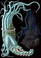 Guardian of Aztlan by A-D-McGowan