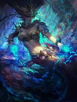 Under sea by wei-zi