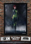 Poison Ivy, Gotham Girls Comic Series, Evolution by PaulSuttonArt
