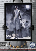 Catwoman (Animation Ver.) 'Dark City' Series by PaulSuttonArt